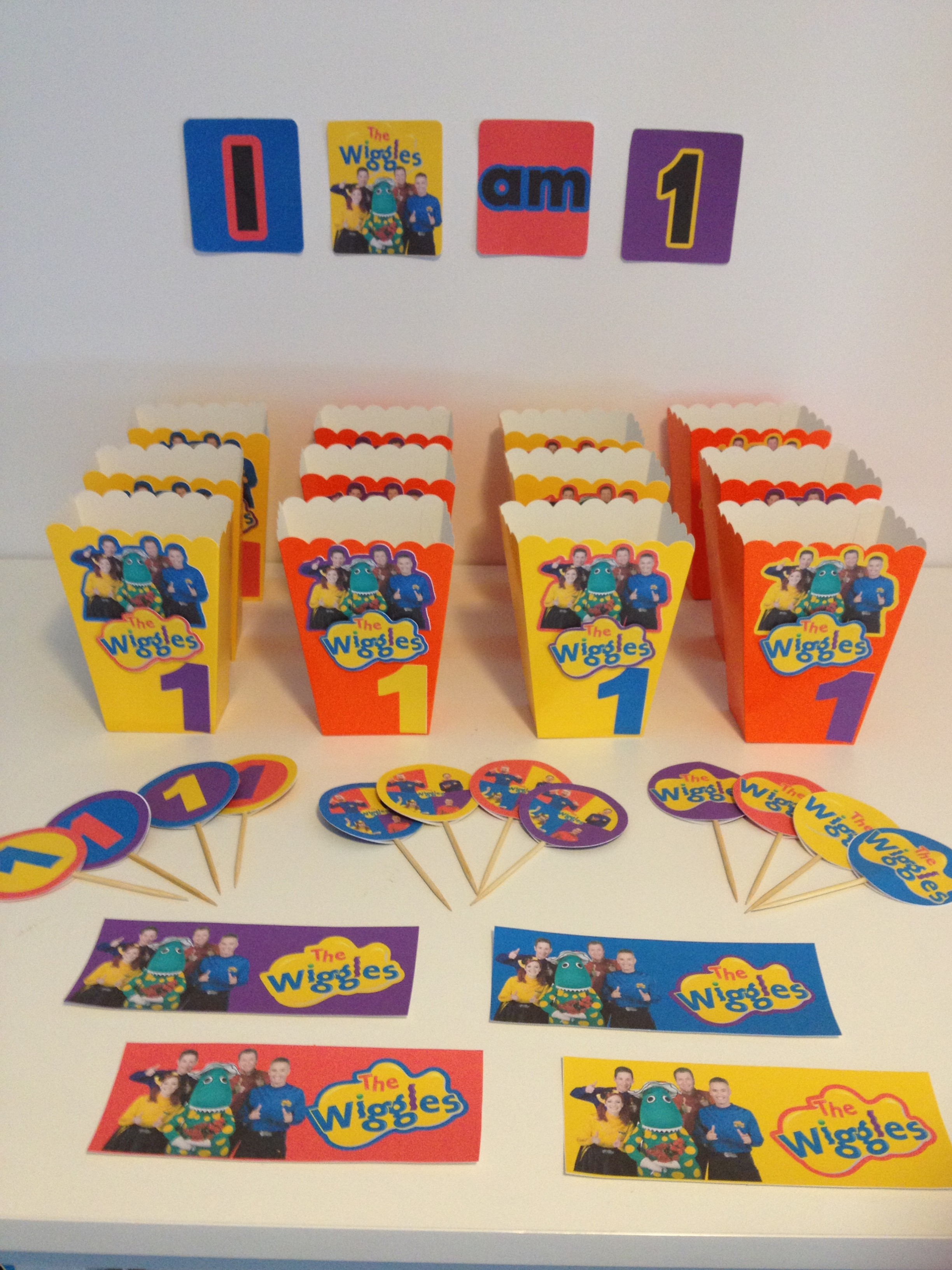 The Wiggles Birthday Party Decorations With Free Printable