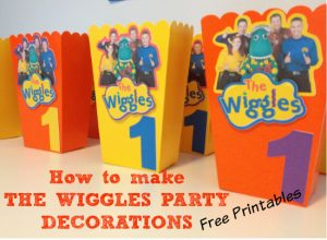 The Wiggles Birthday party decorations thumbnail
