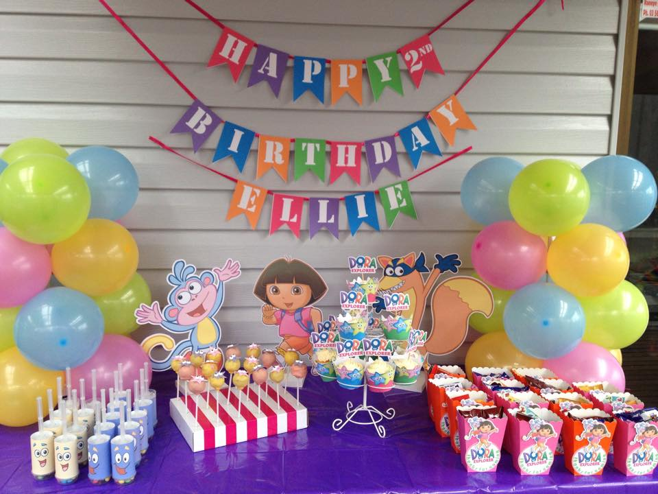 The Ultimate Dora The Explorer Party Setup + FREE