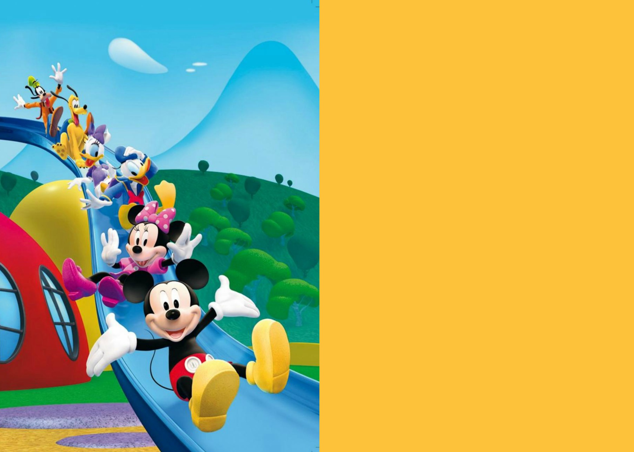 Mickey Mouse Clubhouse 1st Template · Mickey Mouse Clubhouse 2nd Template  (with Coloured Side) ...