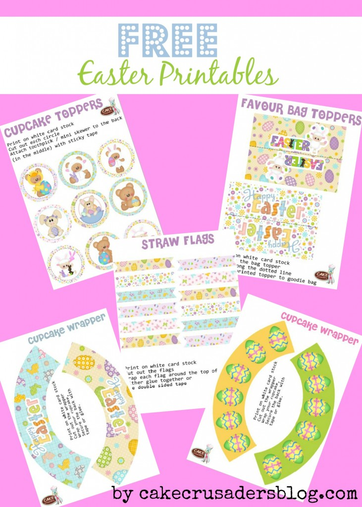 Free Easter Printables Layout advert
