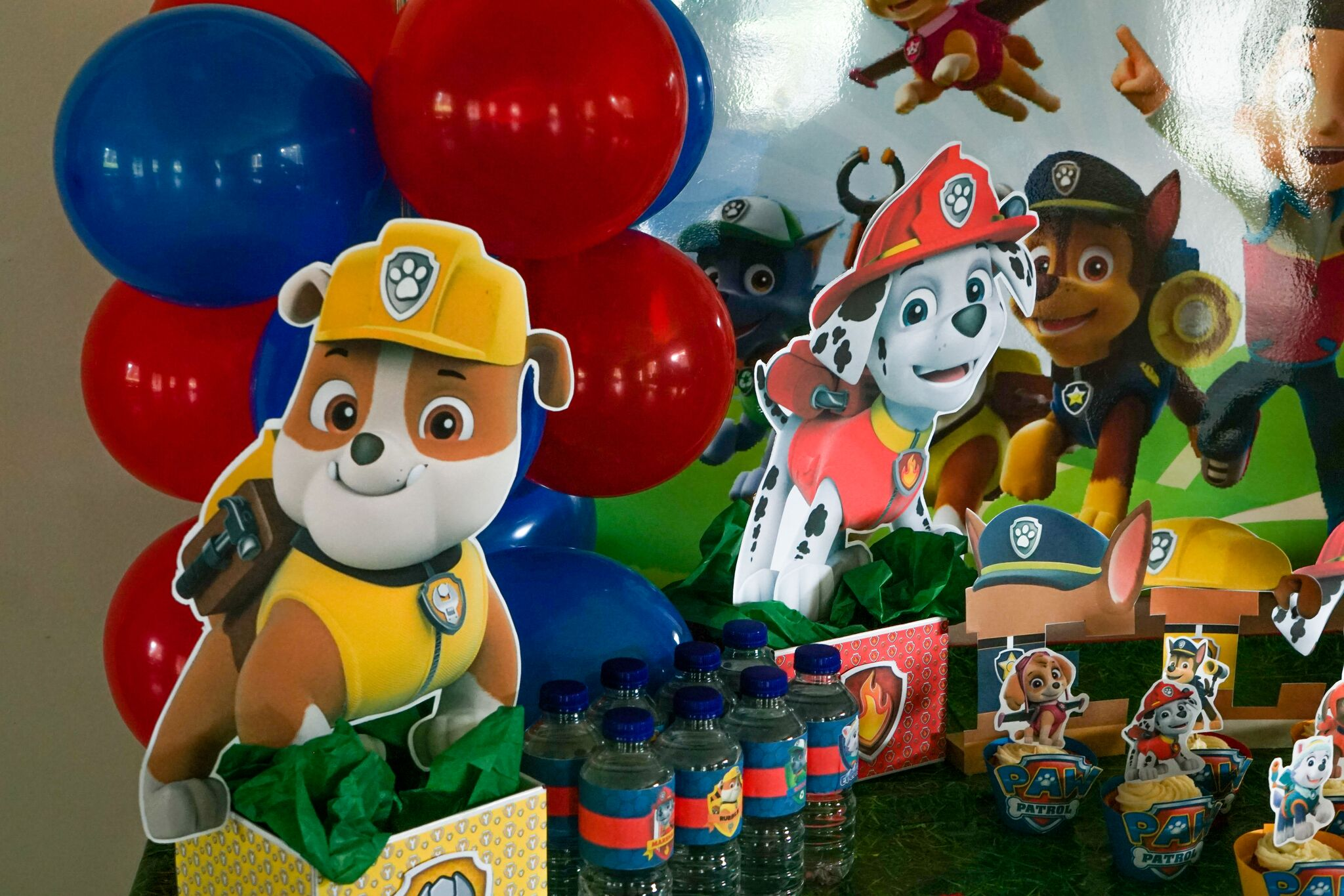 How To Make Paw Patrol Centerpieces Table Decorations