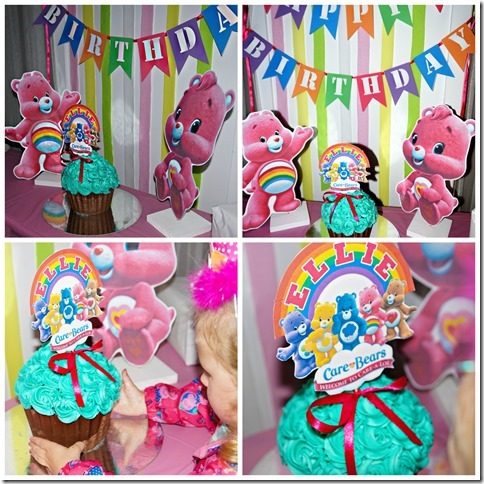 How to make Care Bears Birthday decorations