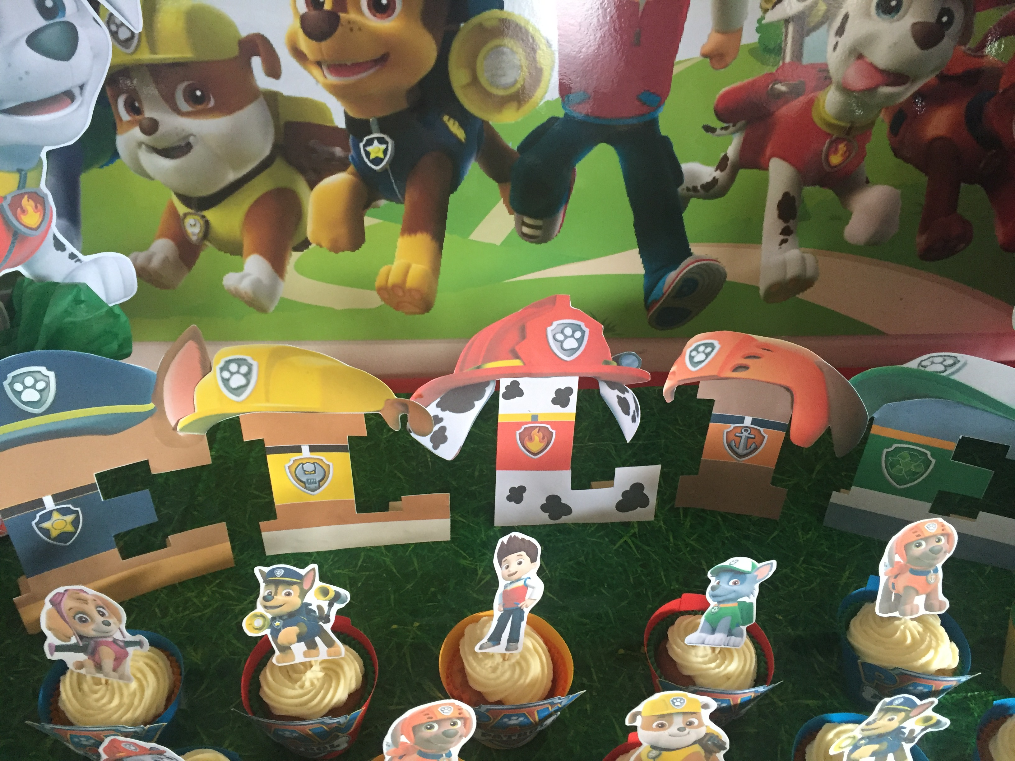 How to make paw patrol party decorations