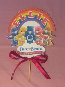 cake topper care bears