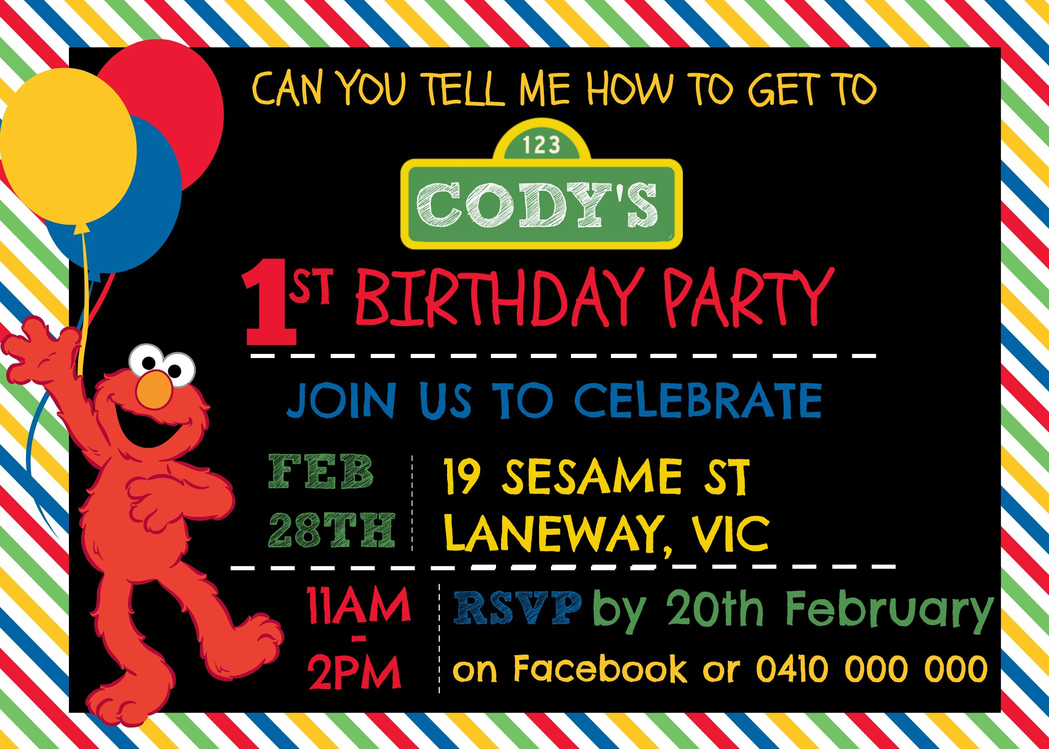 I Hope You Found This Tutorial Useful And Will Give It A Go For Your Childs Next Sesame Street Birthday