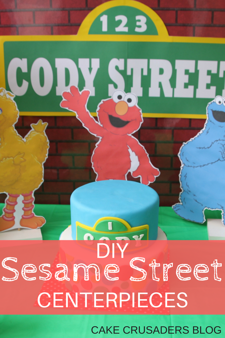Diy sesame street party decorations centerpieces elmo big bird heres some party decorations you can check off your list to do for your childs sesame street party these awesome easy to make diy sesame street solutioingenieria Image collections
