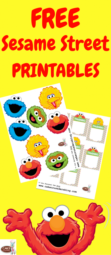 Sesame Street Party Favor Favour Box Decorations Pinterest 1