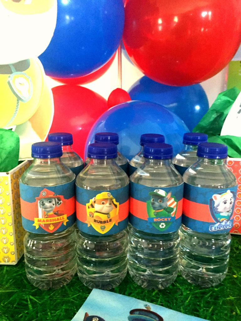 photo relating to Paw Patrol Printable Decorations known as No cost Paw Patrol H2o Bottle Labels