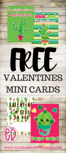 FREE MINI VALENTINES DAY CARDS FOR KIDS