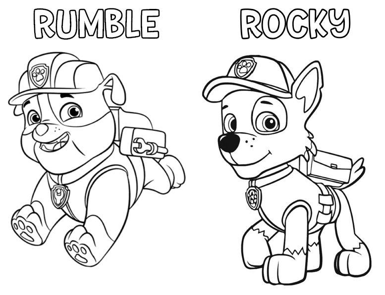 Paw Patrol Ausmalbilder Malvorlagen In Free Printable Coloring Pages: Paw Patrol Coloring Activity Book