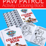 PAW PATROL COLORING ACTIVITY BOOK FREE TO DOWNLOAD