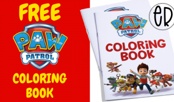 Paw Patrol Coloring Activity Book | FREE to use