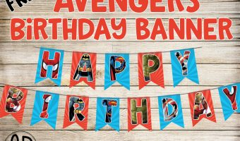 Free Avengers Birthday Party Printables