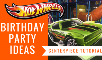 FREE Hot Wheels Centerpiece | Birthday Party Ideas | Tutorials Included