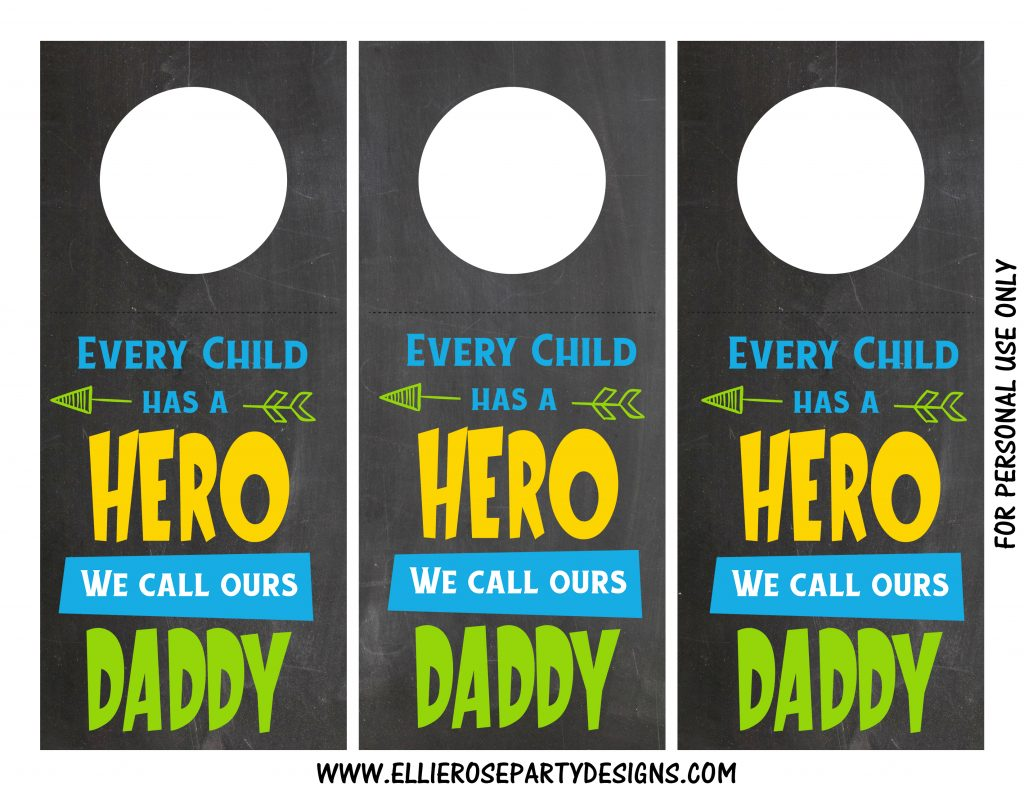 FREE WINE PRINTABLE TEMPLATE WE CALL DADDY OUR HERO