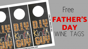 free father's day wine tags printable blog