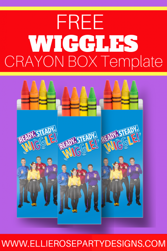 THE WIGGLES CRAYON BOX TEMPLATE PRINTABLE
