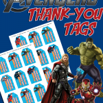 DIY AVENGERS BIRTHDAY PARTY FAVOR FREE PRINTABLES