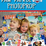 FREE PAW PATROL PHOTO PROP PRINTABLES