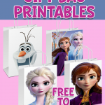 FROZEN 2 FREE GIFT BAG PRINTABLES PARTY FAVOR