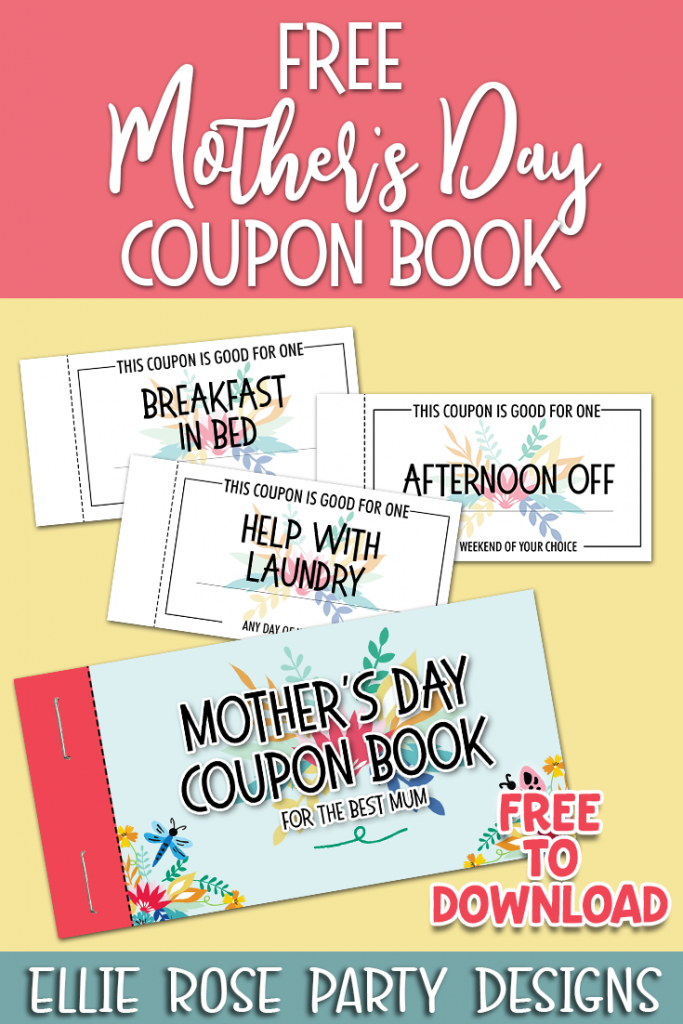 MOTHERS DAY COUPON BOOKLET FREE TO DOWNLOAD