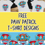 FREE DIY PAW PATROL T-SHIRT DESIGNS